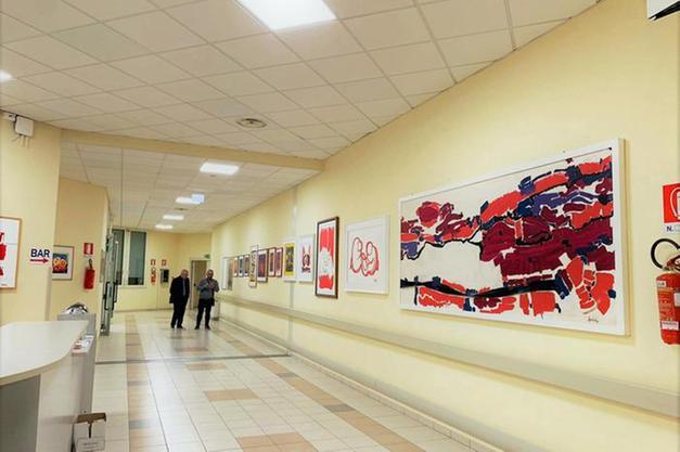 arte contemporanea ospedale Marche